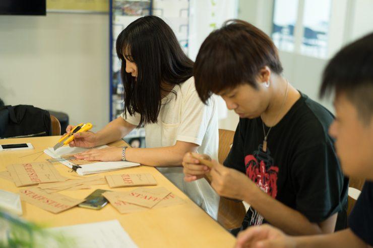 日本福祉大学学生スタッフ