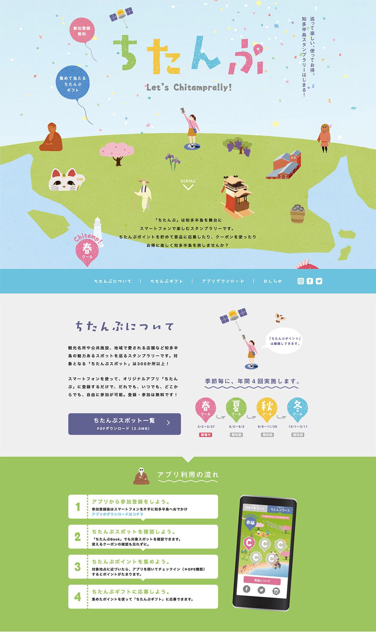 ちたんぷ(chitamp) ホームページ